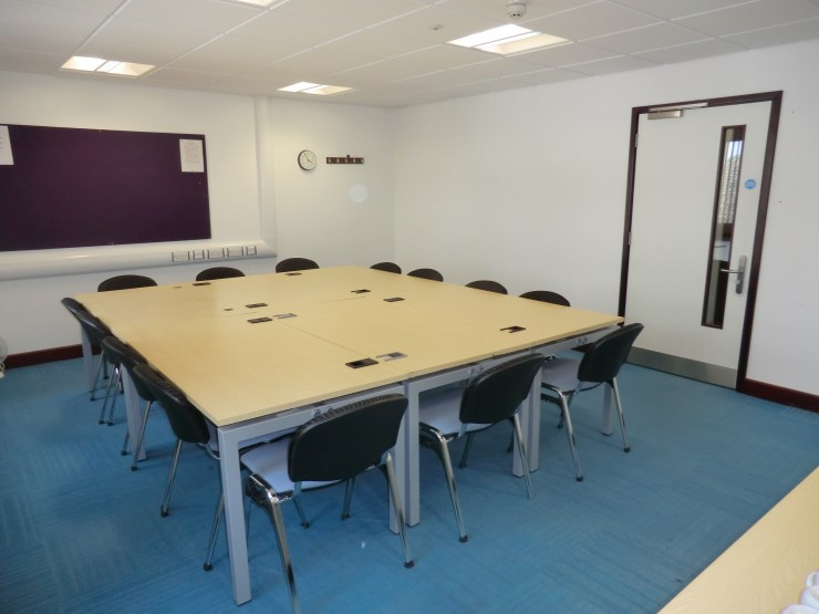 Small meeting room layout