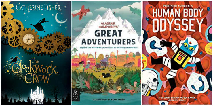 The Clockwork Crow, Alastair Humphreys' Great Adventurers, Professor Astro Cat's Human Body Odyssey