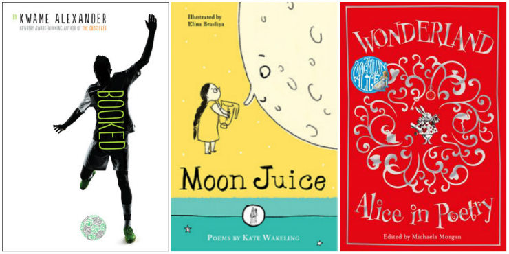 Booked, Moon Juice, Wonderland: Alice in Poetry