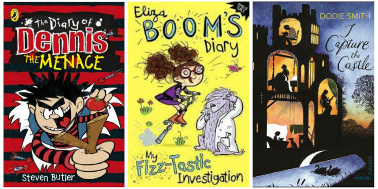 The Diary of Dennis the Menace, Eliza Boom's Diary: my fizz-tastic investigation and I Capture The Castle