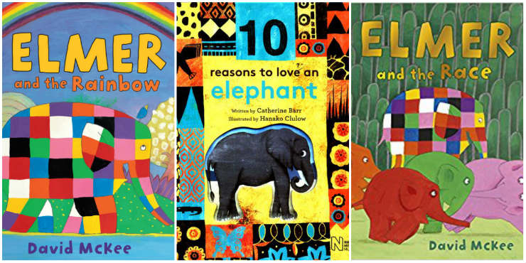 Elmer and the Rainbow, 10 Reasons to Love an Elephant, Elmer and the Race