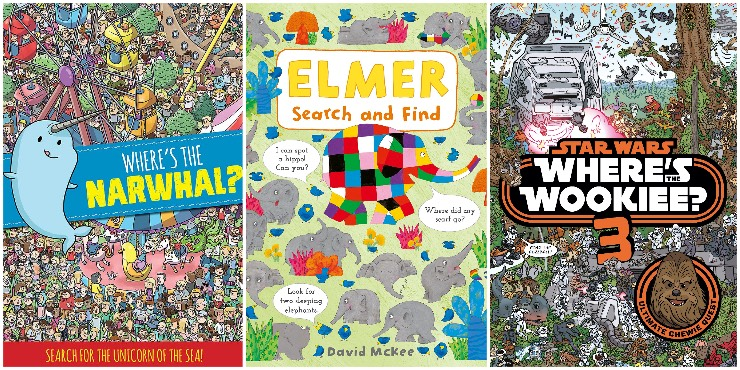 Where's the Narwhal?, Elmer Search and Find, Where's the Wookiee? 3