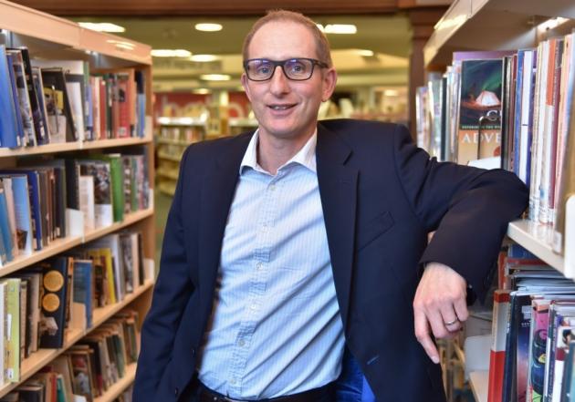Bruce Leeke Suffolk Libraries CEO