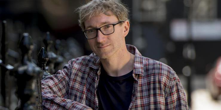 Photo of Author Stuart Turton